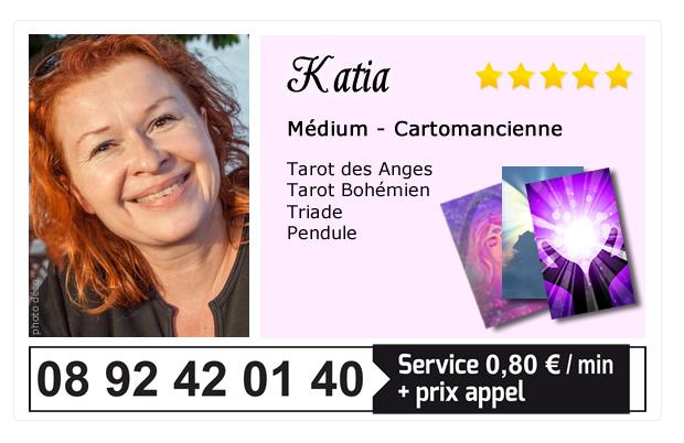 katia voyante au téléphone